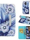 זול מגנים לטלפון-מגן עבור LG LG Stylo 4 ארנק / מחזיק כרטיסים / נפתח-נסגר כיסוי מלא פרח קשיח עור PU