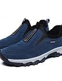 abordables Robes à Motifs-Homme Chaussures de confort Polyuréthane Hiver Sportif Chaussures d'Athlétisme Randonnée Garder au chaud Noir / Gris / Bleu