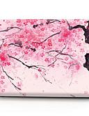 """זול אביזרים ל-MacBook-MacBook נרתיק פרח PVC ל מקבוק פרו13אינץ' / מקבוק פרו15אינץ'עם תצוגת רטינה / New MacBook Air 13"""" 2018"""