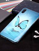 halpa iPhone kotelot-Etui Käyttötarkoitus Apple iPhone XS / iPhone XR / iPhone XS Max Hehkuu pimeässä / Kuvio Takakuori Perhonen Pehmeä TPU