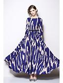 preiswerte Abendkleider-A-Linie Schmuck Knöchel-Länge Jersey Formeller Abend Kleid mit Schärpe / Band durch LAN TING Express