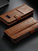 povoljno Smartwatch bendovi-Θήκη Za Samsung Galaxy Note 8 Novčanik / Utor za kartice / sa stalkom Korice Jednobojni Tvrdo PU koža
