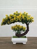 billige Pikekjoler-Kunstige blomster 1 Gren Klassisk Enkel Stil Evige blomster Vase Bordblomst