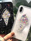 halpa iPhone kotelot-Etui Käyttötarkoitus Apple iPhone XS Max Ultraohut / Kuvio Takakuori Jäätelö Pehmeä TPU