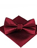 cheap Men's Ties & Bow Ties-Men's Basic Cravat & Ascot - Solid Colored / Print
