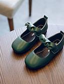 お買い得  女児 ドレス-女の子 靴 合皮 秋 コンフォートシューズ フラット のために 子供 ブラック / Brown / グリーン / カラーブロック