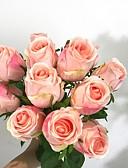 cheap Corsets & Bustiers-Artificial Flowers 12 Branch Classic Modern Contemporary Oriental Eternal Flower Tabletop Flower
