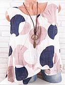 זול חולצות לנשים-מנוקד חוף טישרט - בגדי ריקוד נשים