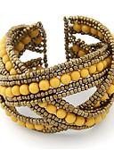 זול תכשיטים אופנתיים-בגדי ריקוד נשים אופנתי צבעוני יומי פגישה (דייט) - קולור בלוק / צמיד