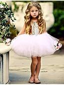 Χαμηλού Κόστους Βρεφικά φορέματα-Μωρό Κοριτσίστικα Βασικό Καθημερινά Μονόχρωμο Αμάνικο Κανονικό Κανονικό Βαμβάκι / Πολυεστέρας Φόρεμα Μαύρο