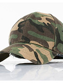 ราคาถูก หมวกสุภาพบุรุษ-ทุกเพศ ลายพิมพ์ พื้นฐาน - หมวกเบสบอล