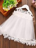זול שמלות לתינוקות-שמלה ללא שרוולים תחרה אחיד פעיל בנות תִינוֹק / פעוטות