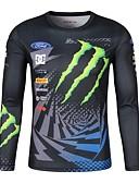 זול טישרטים לגופיות לגברים-בגדי מירוץ גברים של moto gp לובשים רכיבה על חולצת טריקו לגופיות