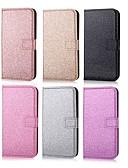 halpa Puhelimen kuoret-Etui Käyttötarkoitus Huawei Huawei P30 / Huawei P30 Pro / Huawei P30 Lite Lomapkko / Korttikotelo / Tuella Suojakuori Yhtenäinen / Kimmeltävä Kova PU-nahka