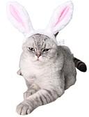 halpa Vauvojen mekot-Koirat Kissat Pääkoristeet Koiran vaatteet Color Block Kani / pupu Pinkki Plyysi Asu Käyttötarkoitus Kaikki vuodenajat Mies Nainen Tavallinen Pääasut