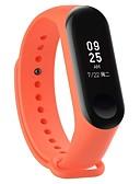 hesapli Smartwatch Bantları-Watch Band için Mi Band 3 Xiaomi Spor Bantları Kauçuk Bilek Askısı