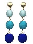 זול תכשיטים אופנתיים-עגילים אחיד בסיסי בגדי ריקוד נשים