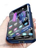 billige Mobilcovers-Etui Til Samsung Galaxy A8 2018 Stødsikker Fuldt etui Ensfarvet Hårdt PC for A8 2018 / A8 / A7
