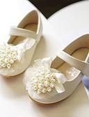 ieftine Rochii de Seară-Fete Microfibre Pantofi Flați Toddler (9m-4YS) / Copii mici (4-7 ani) Confortabili / Pantofi Fata cu Flori Perle / Flori Roz Deschis / Cristal Primăvară / Toamnă / Party & Seară / Cauciuc