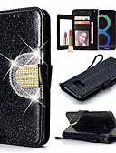 halpa Puhelimen kuoret-Etui Käyttötarkoitus Samsung Galaxy S9 / S9 Plus / S8 Plus Korttikotelo / Pölynkestävä / Tuella Suojakuori Yhtenäinen Kova PU-nahka / TPU