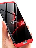 זול מגנים לטלפון-מגן עבור Huawei Huawei P20 / Huawei P20 Pro / Huawei P20 lite אולטרה דק כיסוי מלא אחיד / שִׁריוֹן קשיח PC / P10 Plus / P10
