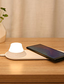Недорогие Внешние аккумуляторы-YEELIGHT Интеллектуальные огни YLYD04YL для Повседневные Индикатор питания / Новый дизайн / Быстрая зарядка Беспроводная зарядка 5 V