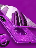 halpa iPhone kotelot-Etui Käyttötarkoitus Apple iPhone XS / iPhone XR / iPhone XS Max Paljetti / Pinnoitus / Sormuksen pidike Takakuori Kimmeltävä / Tekojalokivi Pehmeä TPU