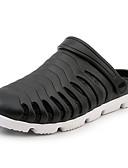 hesapli Erkek Gömlekleri-Erkek Ayakkabı Kauçuk İlkbahar yaz Günlük Terlikler ve Sandaletler Günlük / Kumsal için Siyah / Gri / Mavi