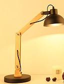 halpa Objektiivit ja tarvikkeet-Moderni nykyaikainen Uusi malli Työpöydän lamppu Käyttötarkoitus Makuuhuone / Sisällä Puu / bambu 220V
