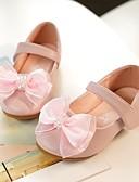 povoljno Haljine za djevojčice-Djevojčice Mikrovlakana Ravne cipele Dijete (9m-4ys) / Mala djeca (4-7s) Udobne cipele / Obuća za male djeveruše Mašnica Light Pink / Kristalne Proljeće / Jesen / Zabava i večer / Guma