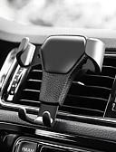 Недорогие Кейсы для iPhone-Автомобиль Держатель подставки Воздухозаборная решетка Тип пряжки ABS Держатель