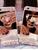 hesapli Print Dresses-Pouzdro Uyumluluk Apple iPhone XS / iPhone XR / iPhone XS Max Taşlı Arka Kapak Solid Sert Arkilik
