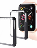 povoljno Zaštitne folije za iPhone-Screen Protector Za Apple Watch Series 4 Kaljeno staklo Visoka rezolucija (HD) / 9H tvrdoća / Έκρηξη απόδειξη 2 kom