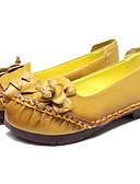 povoljno Haljine za majku mlade-Žene Koža Proljeće Ravne cipele Ravna potpetica Bijela / Crvena / Svjetloplav