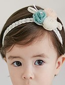 Χαμηλού Κόστους Παιδικά Αξεσουάρ Κεφαλής-Νήπιο Κοριτσίστικα Ενεργό Συνδυασμός Χρωμάτων Σιφόν Αξεσουάρ Μαλλιών Λευκό Ένα Μέγεθος