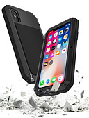 cheap iPhone Cases-Case For Apple iPhone XS / iPhone XR / iPhone XS Max Waterproof / Shockproof / Dustproof Full Body Cases Armor Hard Tempered Glass / Metal for iPhone XS / iPhone XR / iPhone XS Max