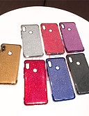זול מגנים לטלפון-מגן עבור Xiaomi Xiaomi Redmi Note 5 Pro / Xiaomi Redmi הערה 5 / Xiaomi Redmi Note 6 ציפוי / זוהר ונוצץ כיסוי אחורי שקוף / זוהר ונוצץ רך TPU / Xiaomi Redmi Note 4X / Xiaomi Redmi Note 4