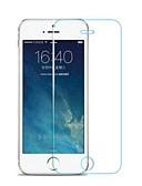hesapli iPhone Ekran Koruyucuları-AppleScreen ProtectoriPhone SE / 5s Yüksek Tanımlama (HD) Ön Ekran Koruyucu 1 parça Temperli Cam
