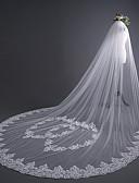 economico Veli da sposa-1 strato Lusso / Dolce Veli da sposa Velo lungo (con strascico) con cuore / Con applique 30 cm Tulle