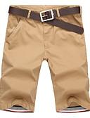 levne Pánské kalhoty a kraťasy-Pánské Základní EU / US velikost Kalhoty chinos Kalhoty - Jednobarevné Světle modrá Armádní zelená Khaki XL XXL XXXL