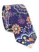 abordables Corbatas y Pajaritas para Hombre-Hombre Corbata - Fiesta / Trabajo / Activo Floral / Estampado / Jacquard