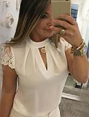 economico Bluse da donna-Blusa Per donna Collage, Tinta unita