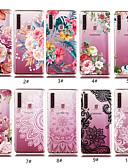 levne Pouzdra telefonu-Carcasă Pro Samsung Galaxy Galaxy A30(2019) / Galaxy A50(2019) Průhledné / Vzor Zadní kryt Květiny Měkké TPU pro A5(2018) / A6 (2018) / A6+ (2018)