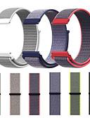 halpa Smartwatch-nauhat-Watch Band varten Gear S3 Frontier / Gear S3 Classic / Samsung Galaxy Watch 46 Samsung Galaxy Urheiluhihna Nylon Rannehihna