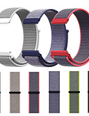 hesapli Smartwatch Bantları-Watch Band için Gear S3 Frontier / Gear S3 Classic / Samsung Galaxy Watch 46 Samsung Galaxy Spor Bantları Naylon Bilek Askısı