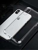 hesapli iPhone Kılıfları-Apple dört köşe hava yastığı damla geçirmez tpu yumuşak kabuk telefon kılıfı için apple iphone6 / 6 s / 7/8/7 artı / 8 artı / x / xs / xr / xsmax şeffaf telefon kılıfı