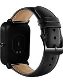 זול להקות Smartwatch-צפו בנד ל Huami Amazfit Bip Younth Watch Xiaomi רצועת ספורט עור אמיתי רצועת יד לספורט