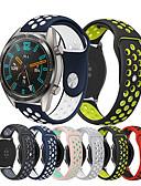 Недорогие Smartwatch Bands-Ремешок для часов для Huawei Watch GT / Watch 2 Pro Huawei Спортивный ремешок силиконовый Повязка на запястье