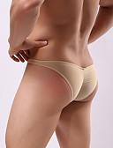 ieftine Men's Exotic Underwear-pantaloni pentru barbati lenjerie de corp - ruched 1 bucata talie mica
