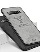 זול מגנים לטלפון-מגן עבור Samsung Galaxy S9 / S9 Plus / S8 Plus עמיד בזעזועים / מובלט / תבנית כיסוי אחורי חיה / דמות מצוירת בתלת מימד רך TPU / בד אוקספורד